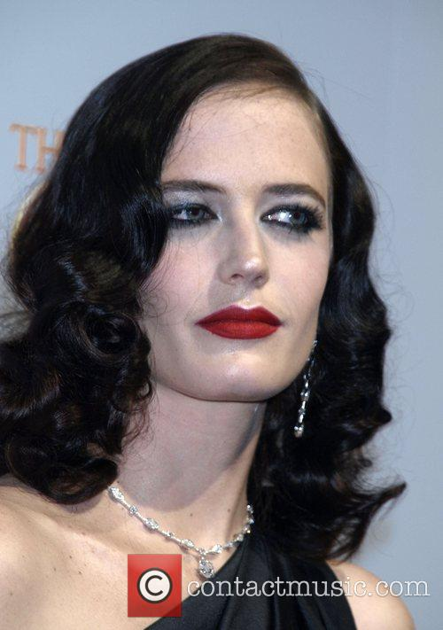Eva Green at the New York premiere of...