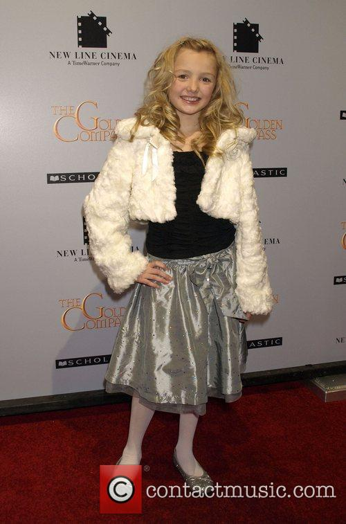 Peyton List at the New York premiere of...