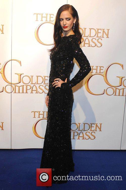 Eva Green World Premiere of 'The Golden Compass'...