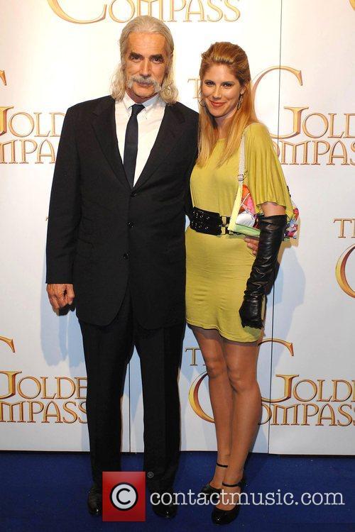 Sam Elliott and daughter Chloe World Premiere of...