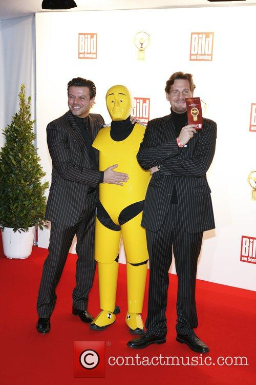Alain Midzic, Thomas Heinze Das Goldene Lenkrad awards...