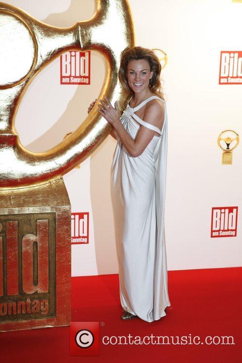 Christina Surer Das Goldene Lenkrad awards at Ullstein-Halle...