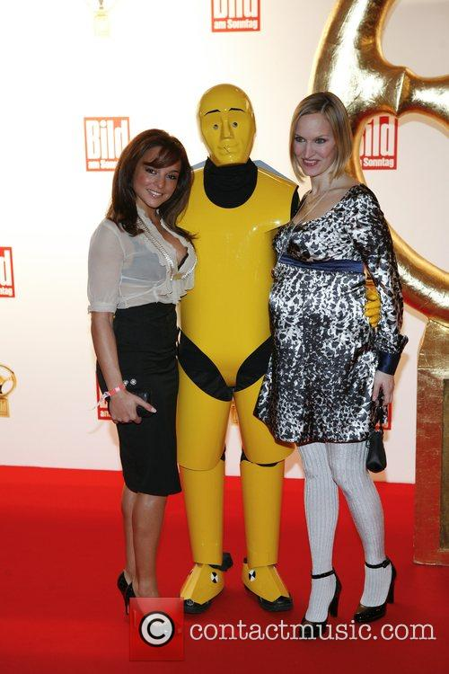 Estefania Kuester, Anna Strunz Das Goldene Lenkrad awards...