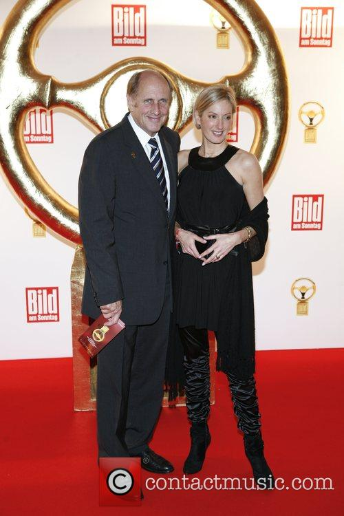 Hans-Joachim Stuck, Sylvia Stuck Das Goldene Lenkrad awards...