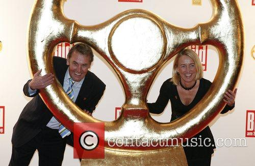 Joerg Wontorra, Isolde Holderied Das Goldene Lenkrad awards...
