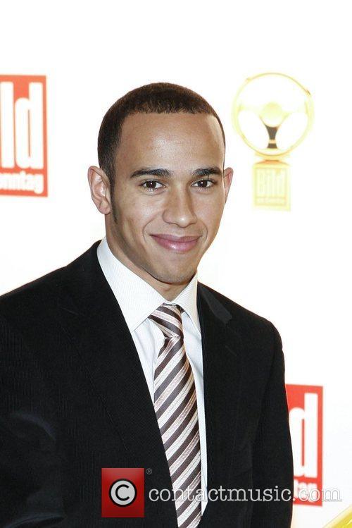 Lewis Hamilton Das Goldene Lenkrad awards at Ullstein-Halle...