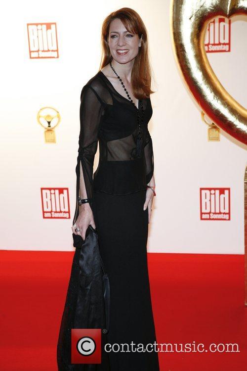 Monica Lierhaus,  Das Goldene Lenkrad awards at...