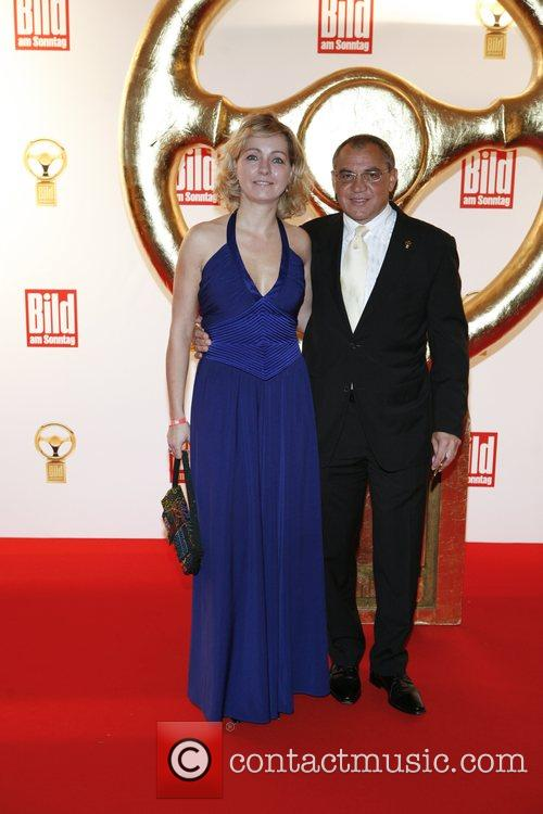Nicola Magath, Felix Magath Das Goldene Lenkrad awards...