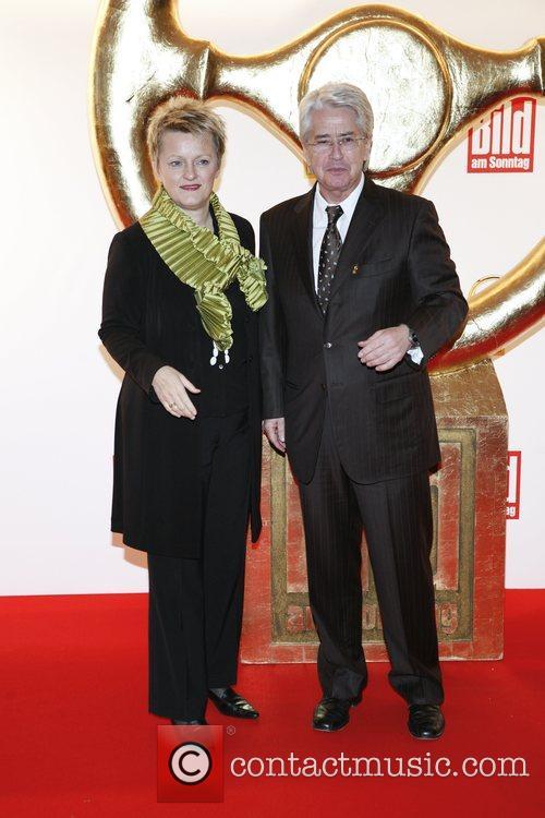 Renate Kuenast, Frank Elstner Das Goldene Lenkrad awards...