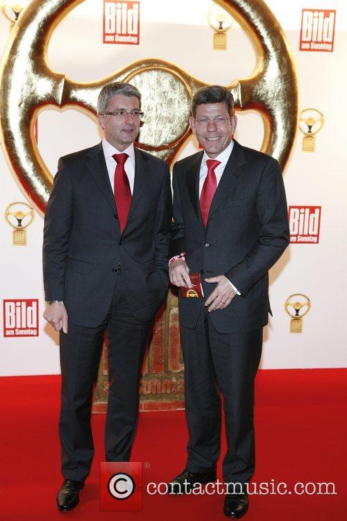 Rupert Stadler, Bernhard Mattes Das Goldene Lenkrad awards...