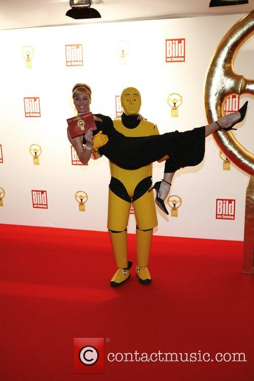 Sonja Zietlow Das Goldene Lenkrad awards at Ullstein-Halle...