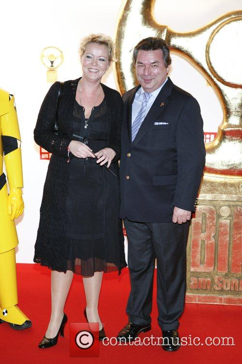 Waldemar Hartmann, Marion Horn Das Goldene Lenkrad awards...