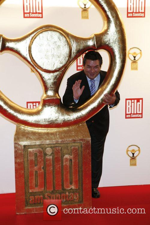 Waldemar Hartmann Das Goldene Lenkrad awards at Ullstein-Halle...