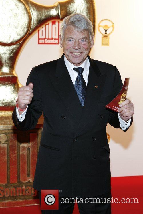 Wulf Wegener Das Goldene Lenkrad awards at Ullstein-Halle...