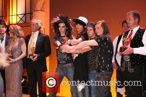 Goldene Stimmhabel awards at Friedrich-Ebert-Halle