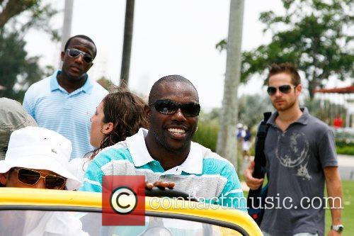 Terrell Owens, Dj Irie Celebrity Golf Tournament