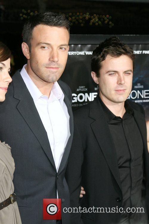 Ben Affleck and Casey Affleck Los Angeles premiere...