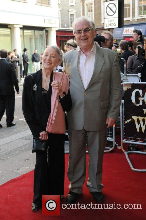 Attends the opening night for 'Gone with the...