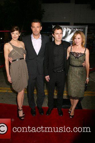 Michelle Monaghan, Writer/Director Ben Affleck, Casey Affleck and...