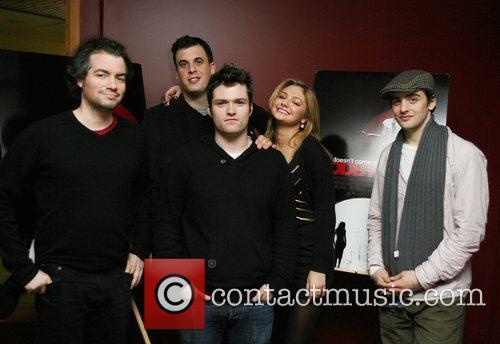 Kevin Corrigan, Guest, Christine Evangelista and Vincent Plazza
