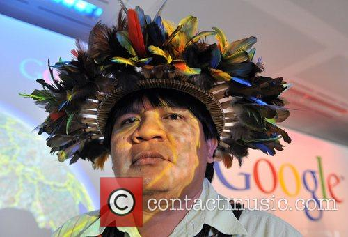 Chief Almir Surui Launch of the Google Earth...