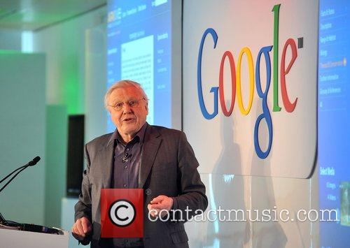 David Attenborough Launch of the Google Earth Outreach...