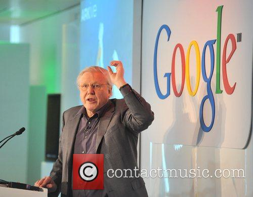 David Attenborough The launch of Google Earth Outreach...