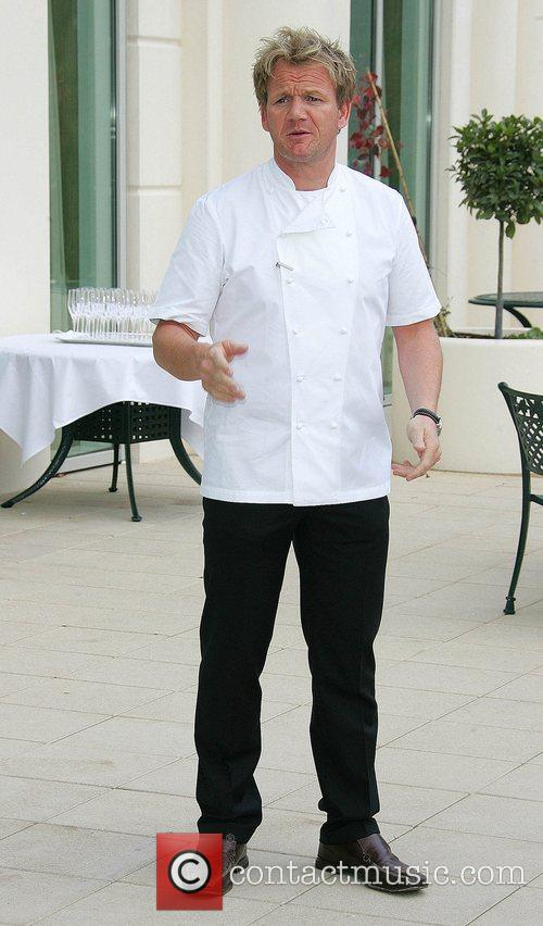 Opens his new restaurant 'Gordon Ramsay at Powerscourt'