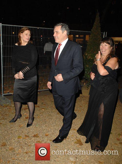 Gordon Brown and Tana Ramsay