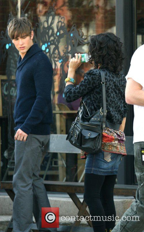 Chace Crawford and Jessica Szohr on the film...