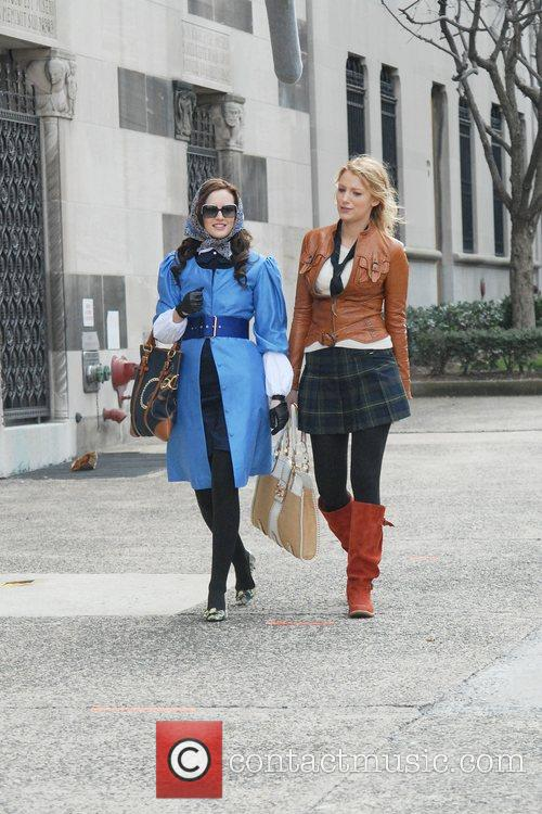 Blake Lively and Leighton Meester 1