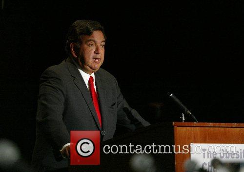 Presidential Candidate Governor Bill Richardson addresses the Obesity...
