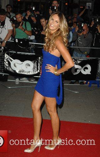 Elle MacPherson GQ Awards  at the Royal...