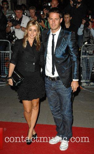 Louise Redknapp and Jamie  GQ Awards...