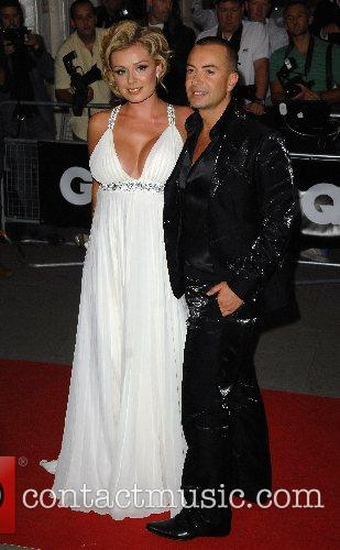 Catherine Jenkins and Julien McDonald GQ Awards...