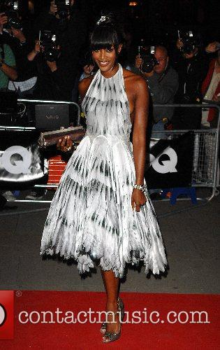Naomi Campbell GQ Awards  at the Royal...
