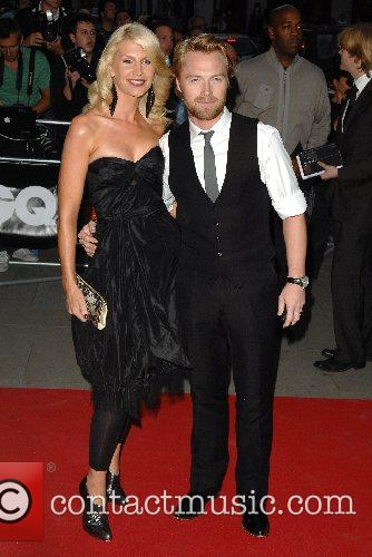 Ronan Keating and guest GQ Awards held at...