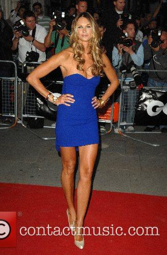 Elle MacPherson GQ Awards held at the Royal...