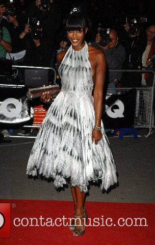 Naomi Campbell GQ Awards held at the Royal...