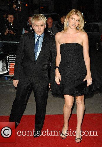 Nick Rhodes and Meredith Ostrum GQ Awards held...