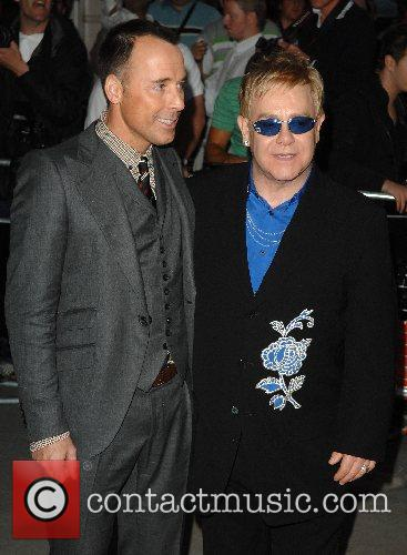 David Furnish and Sir Elton John 1