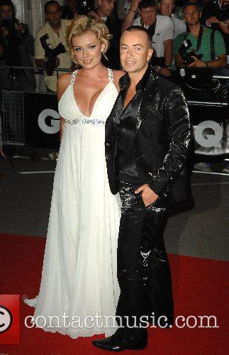 Catherine Jenkins and Julien McDonald GQ Awards held...