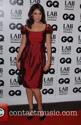 Kelly Brook GQ Men Of The Year Awards...
