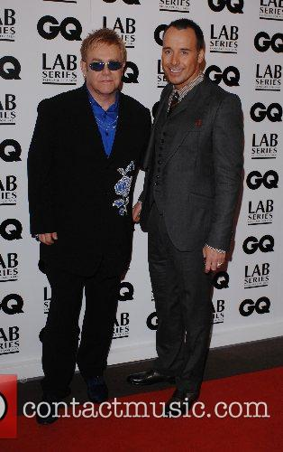 Sir Elton John and David Furnish GQ Men...