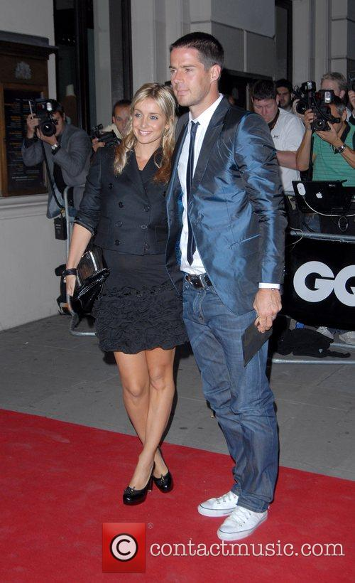 Louise Redknapp and Jamie Redknapp GQ Awards held...