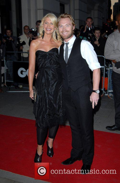 Ronan Keating GQ Awards held at the Royal...