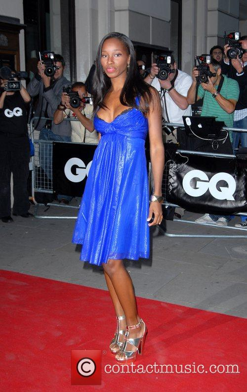 Jamelia GQ Awards held at the Royal Opera...