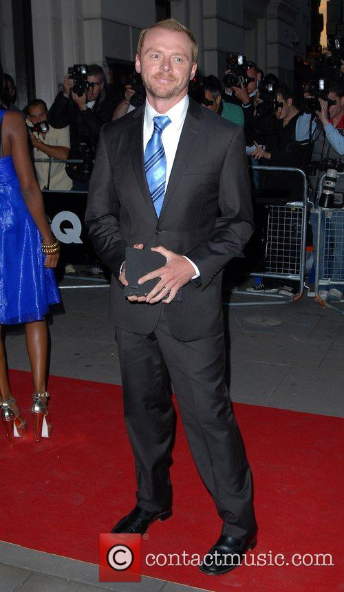 Simon Pegg GQ Awards held at the Royal...