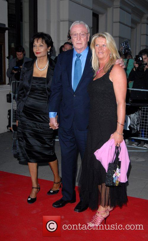Shakira Caine, Michael Caine and guest GQ Awards...