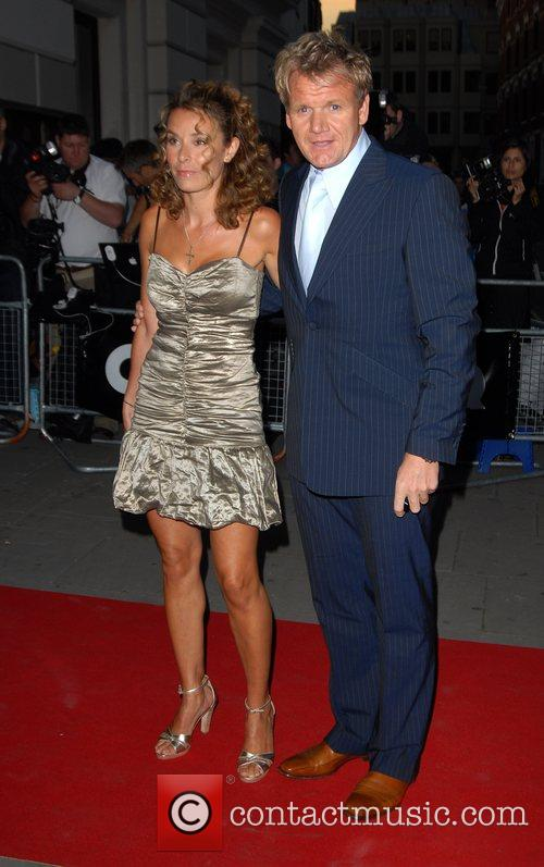 Gordon Ramsay and Tana Ramsay GQ Awards held...